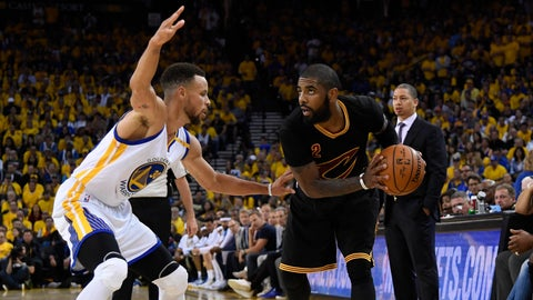 Kyrie Irving, Cavaliers: A-