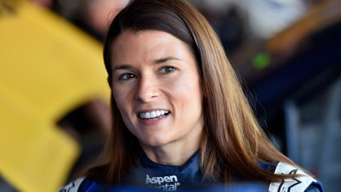 Danica Patrick (network coverage host in Hollywood Hotel)