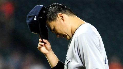 Masahiro Tanaka, SP, Yankees