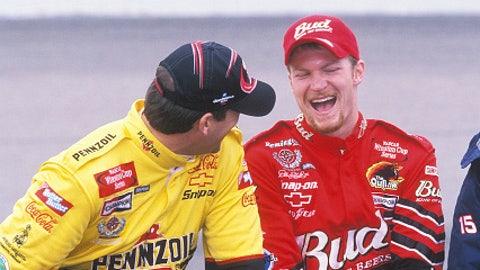 Steve Park and Dale Earnhardt Jr., 2002