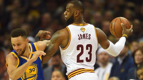 The Cavs used their first few possessions to test the Warriors on offense, and it worked