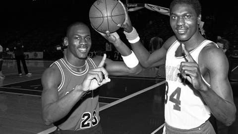 Houston Rockets: Hakeem Olajuwon over Michael Jordan (1984, Pick No. 1)