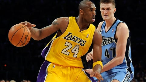 Los Angeles Lakers: Devean George over Andrei Kirilenko (1999, Pick No. 23)