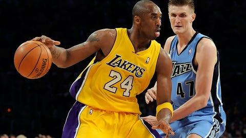 Los Angeles Lakers: Devean George over Andrei Kirilenko (1999, Pick No. 23)