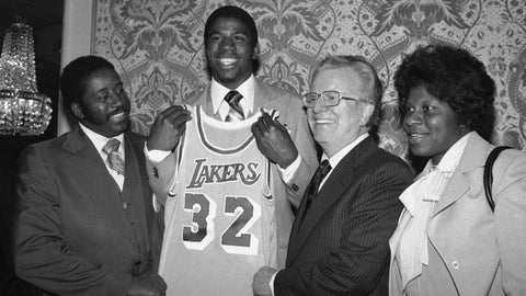 1979: A deal from 1976 means Magic Johnson joins the Lakers