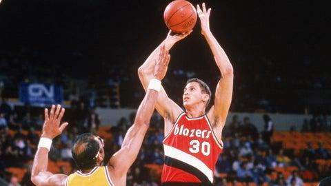 1984: The Portland Trail Blazers select Sam Bowie