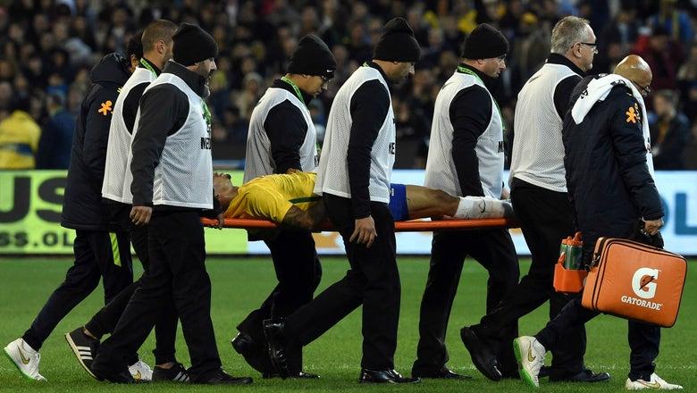 Man City starlet Gabriel Jesus suffers broken eye socket on international duty