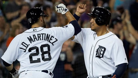 Tigers (29-30): SELL