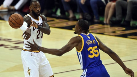 LeBron James had a plan from the very start of Game 4