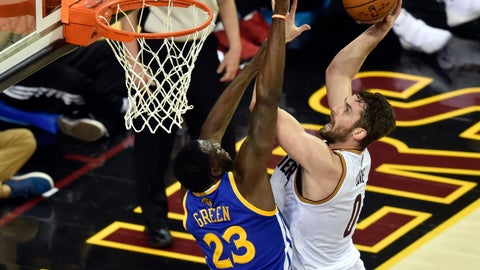 Kevin Love > Draymond Green