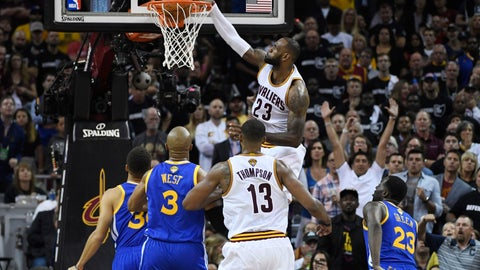 The Cleveland Cavaliers will win this series