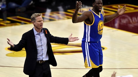Cheat off of Draymond Green to shut down Steph (and maybe KD)