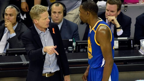Steve Kerr cost the Warriors a shot at closing out the Finals