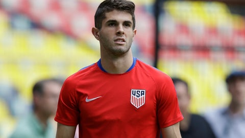 Christian Pulisic wasn't at his best