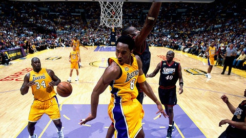 2000-01 Los Angeles Lakers (15-1)