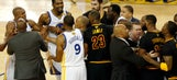 Watch David West shove Kyrie Irving as things get physical in Game 5