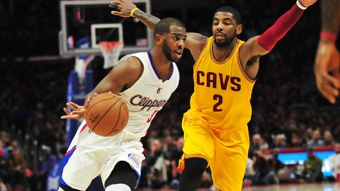 Kyrie Irving and Edy Tavares for Chris Paul (sign-and-trade)