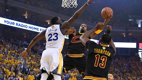 """The Cavs and Warriors busted out """"medium-ball"""""""