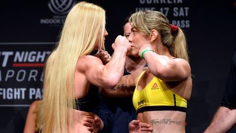 Holly Holm vs. Bethe Correia