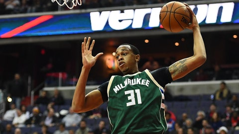 2012 -- Milwaukee Bucks: John Henson (F), UNC