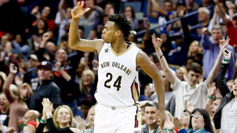 2016 -- New Orleans Pelicans: Buddy Hield (G), University of Oklahoma