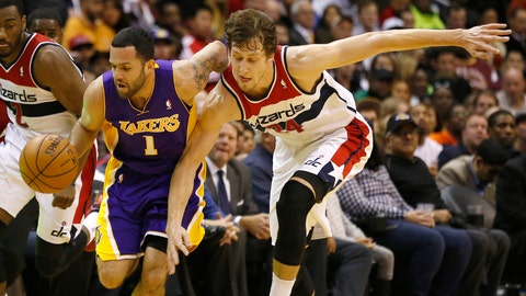 2011 -- Washington Wizards: Jan Vesely (F), Czech Republic
