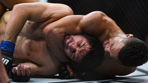 3 rear-naked choke finishes