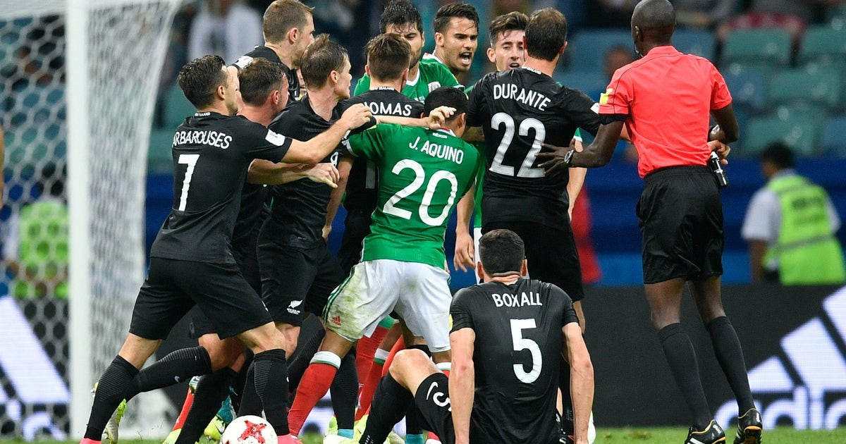 Mexico S Heated Ending With New Zealand Puts Var S