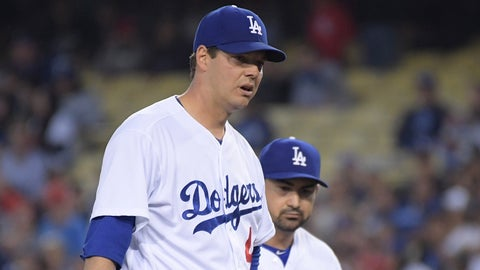 Dodgers re-signing Rich Hill
