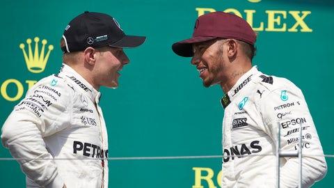 Bottas vs. Hamilton