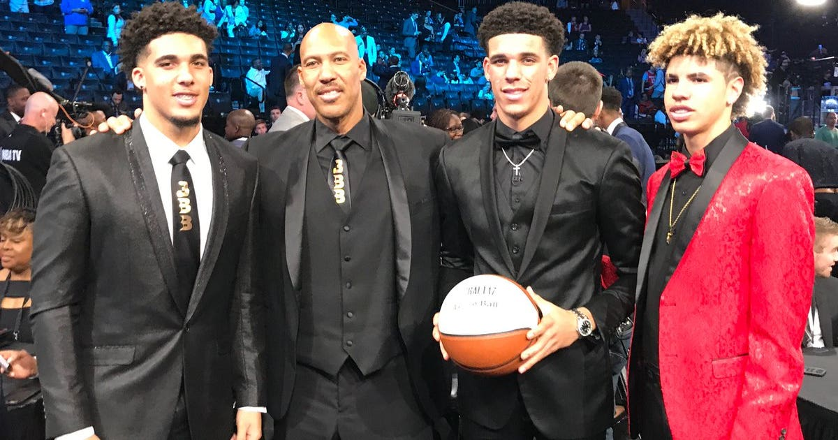 B All In The Family Lakers Introduce Second Overall Pick