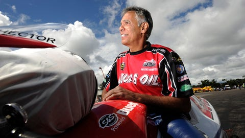 Hector Arana Sr. will not be competing at NHRA Pro Stock Motorcycle events for the next three months. (Photo: NHRA)