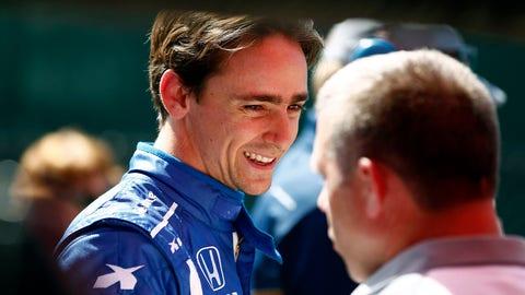 Esteban Gutierrez competed in both IndyCar races in Detroit. (Photo: Phillip Abbott/LAT Images)