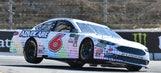 Trevor Bayne talks the razor's edge of racing on a road course