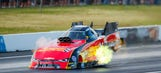 Courtney Force fails to qualify for the Summit Racing Equipment NHRA Nationals
