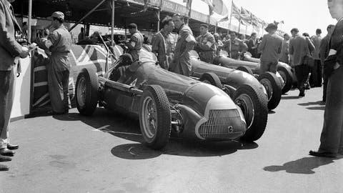 First F1 race