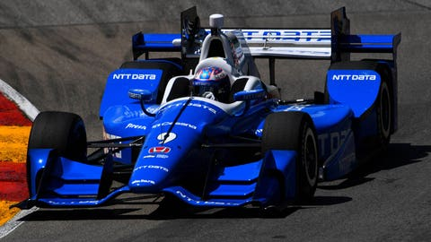 Scott Dixon extends his championship lead with his win at Road America.  (Photo: Mike DiNovo/USA TODAY Sports)