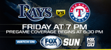 Preview: Rays return home riding high to host Rangers