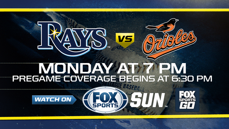 Preview: Rays host Orioles, try to bounce back from sweep