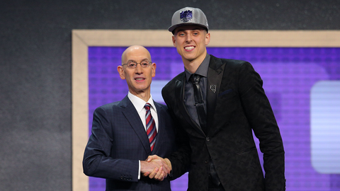 Zach Collins, C, Kings (No. 10)