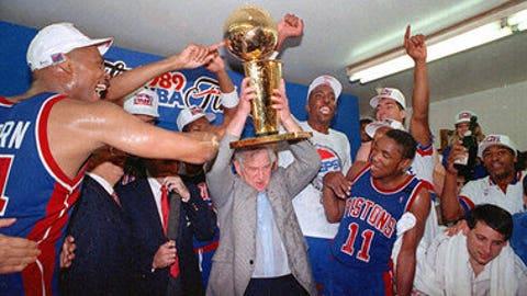 1989 Detroit Pistons (63-19, 15-2)