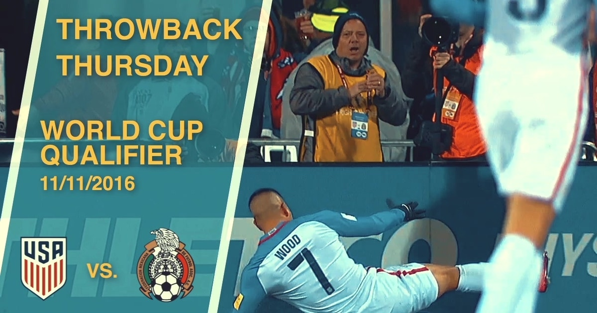 908929b4a Throwback Thursday  USA vs. Mexico