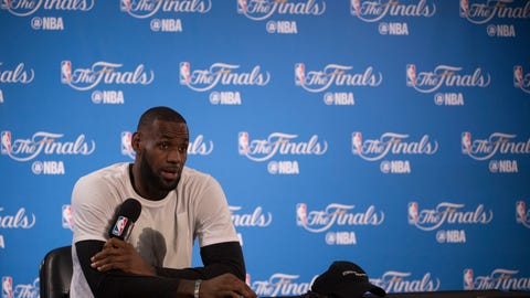LeBron James: Racism will always be a part of the world