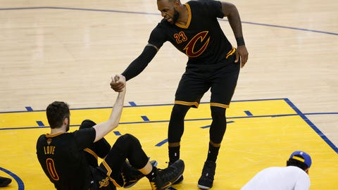 LeBron James is doing all he can
