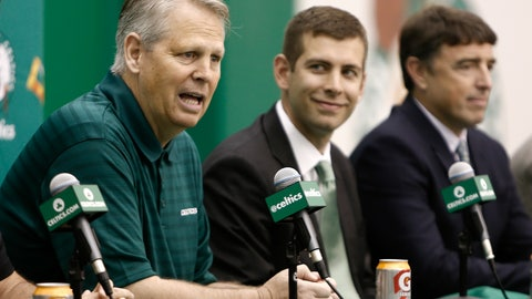 The Celtics probably aren't done dealing yet