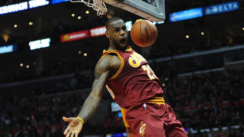 LeBron is simply trying to pressure Cavs owner Dan Gilbert
