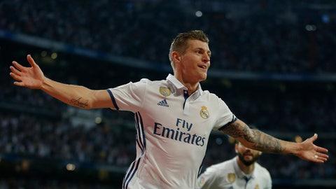 MF: Toni Kroos - Real Madrid