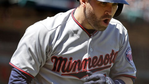 Brian Dozier, Twins second baseman (UP ↑)