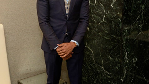 NEW YORK, NEW YORK - MAY 16:  NBA Draft Prospect, Markelle Fultz poses for a photo during the 2017 NBA Draft Lottery at the New York Hilton in New York, New York. NOTE TO USER: User expressly acknowledges and agrees that, by downloading and or using this Photograph, user is consenting to the terms and conditions of the Getty Images License Agreement.  Mandatory Copyright Notice: Copyright 2017 NBAE (Photo by David Dow/NBAE via Getty Images)