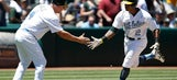 Khris Davis' 2-run homer leads Athletics to sweep of Yankees